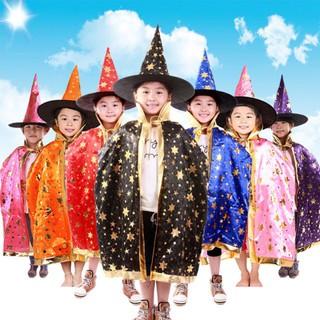 [Halloween] Áo choàng phù thuỷ