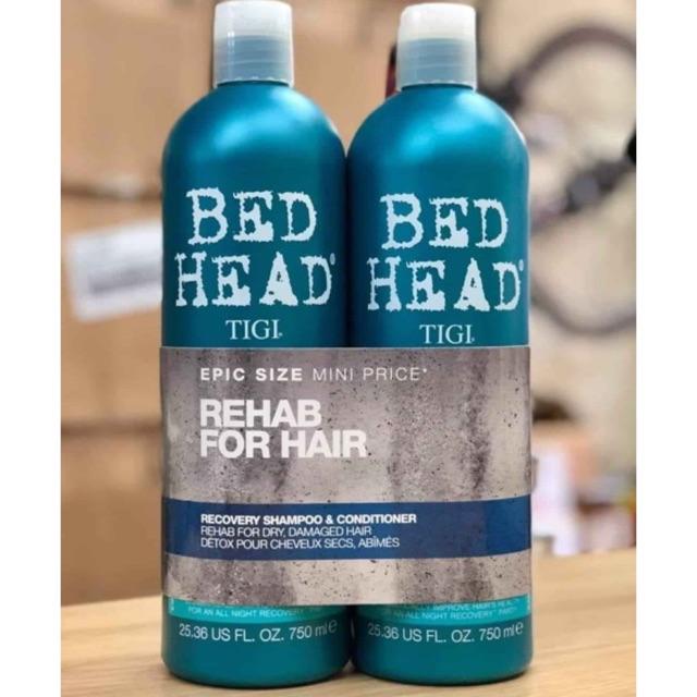 Cặp gội xả Tigi xanh dương cho tóc dầu | Shopee Việt Nam