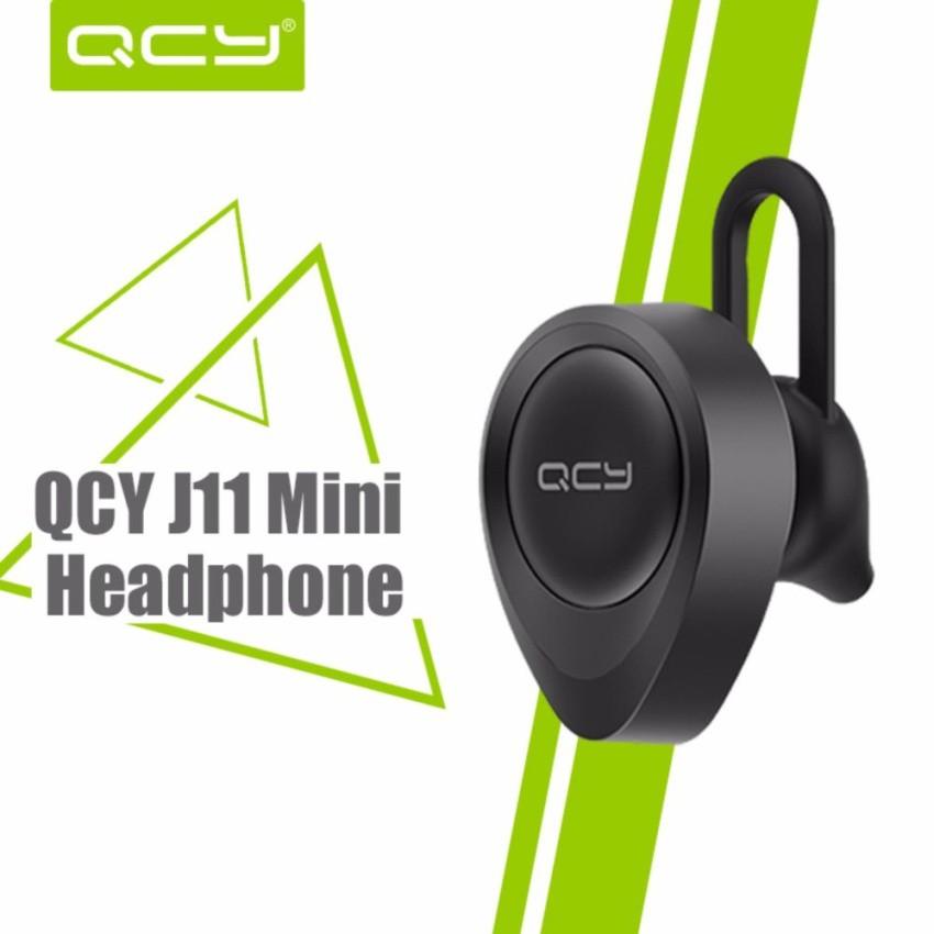 Tai nghe Mini bluetooth Chất lượng tốt QCY j11 ( Đen)
