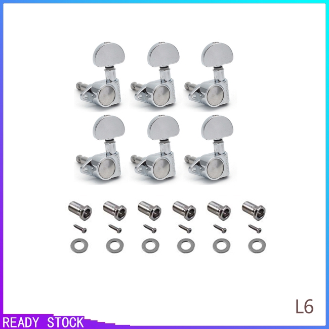 Guitar Parts Machine Heads Knobs Guitar String Tuning Pegs Machine Head  Tuners for Electric or