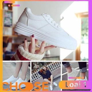 [Bản Mới Nhất] Giày Thể Thao Nữ Sneaker Màu Trắng Choose Tăng Chiều Cao Cho Học Sinh GK9K2 thumbnail
