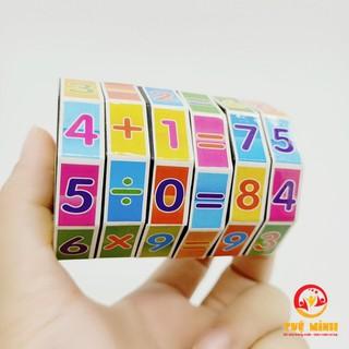 Yêu Thích[Mã TOYJAN hoàn 20K xu đơn 50K] Rubic Toán Học Tuệ Minh Đồ Chơi Cho Bé Học Toán Làm Quen Chữ Số Và Phép Tính