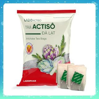 Trà Atiso túi lọc Ladophar 100 gói Trà Actiso Đà Lạt, món quà sức khỏe từ thiên nhiên