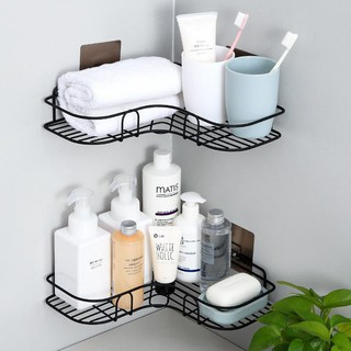 🎯 KIMMART🎯 Kệ góc đa năng siêu dính trong nhà tắm ,nhà bếp siêu tiện dụng (TẶNG 2 MIẾNG DÁN – LOẠI 1 TẦNG)
