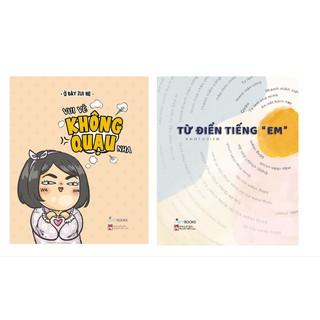 Sách - Combo 2 cuốn Vui vẻ không quạo nha + Từ điển tiếng em thumbnail