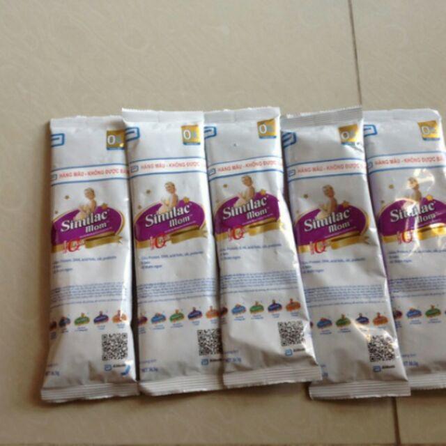 10 gói sữa similac mom 36.5g date 2019
