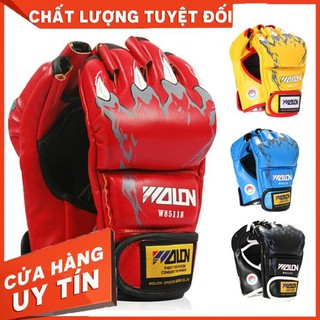 Găng Tay Võ Thuật – Găng Tay MMA Hở Ngón Xịn – Hàng nhập khẩu
