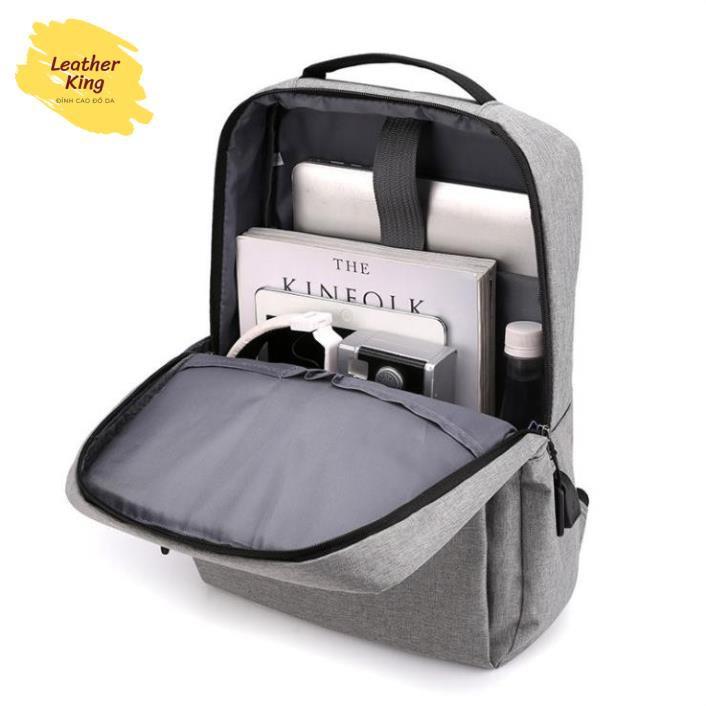 Balo chống nước cực bền LEOTIVA BL010 - tặng túi đeo chéo và ví cầm tay, BALO ULZZANG BASIC Balo nam Nữ Balo Laptop Cao