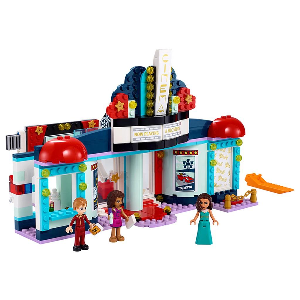 LEGO FRIENDS 41448 Rạp Chiếu Phim Heartlake (451 chi tiết) Đồ chơi giáo dục lắp ráp cho bé gái