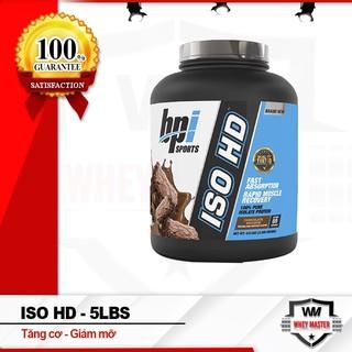 [Free ship + Quà] Sữa Tăng Cơ Bắp Bpisports Iso HD 5 Lbs (2.34 kg) – Chính hãng