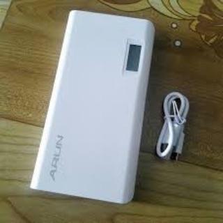 Sạc dự phòng ARUN 20000 cổng sạc USB 2.1A