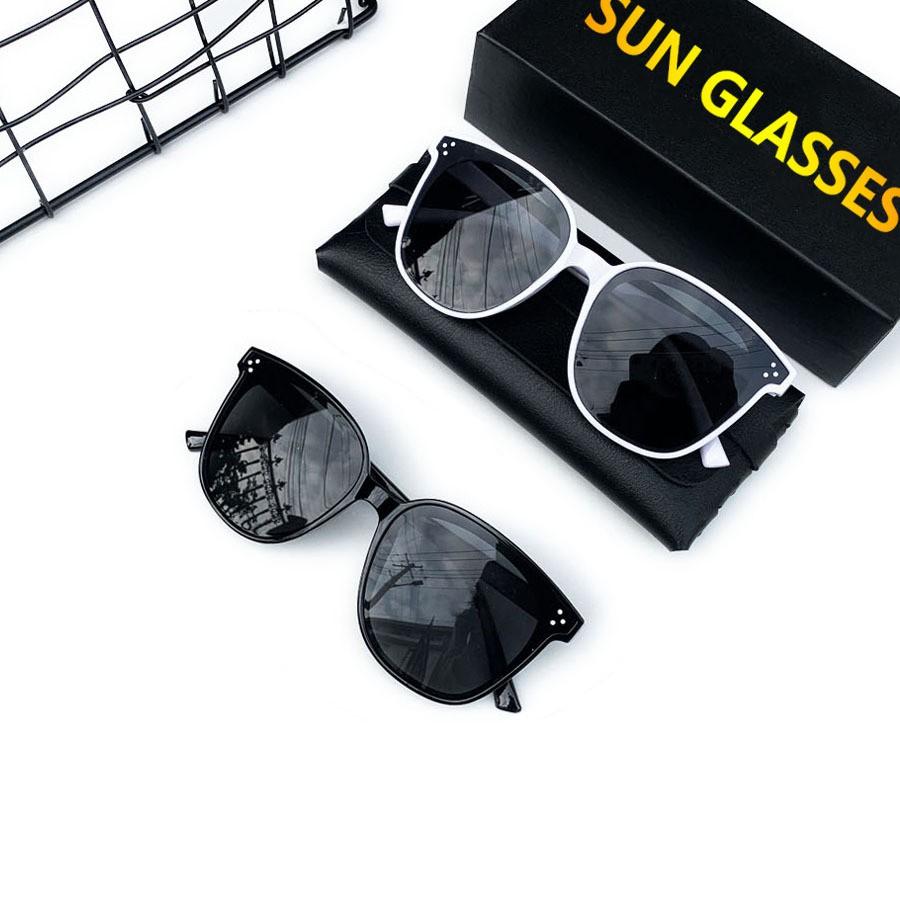Mắt kính thời trang nam nữ giá rẻ kính râm chống tia UV gọng kính nhựa PC cao cấp MSP V1992