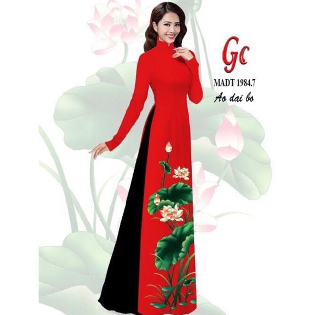 Vải áo dài hoa sen - 10016569 , 1295283363 , 322_1295283363 , 220000 , Vai-ao-dai-hoa-sen-322_1295283363 , shopee.vn , Vải áo dài hoa sen