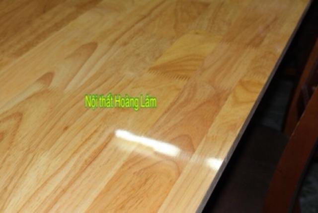 Mặt bàn gỗ cao su tự nhiên 60cm*120cm