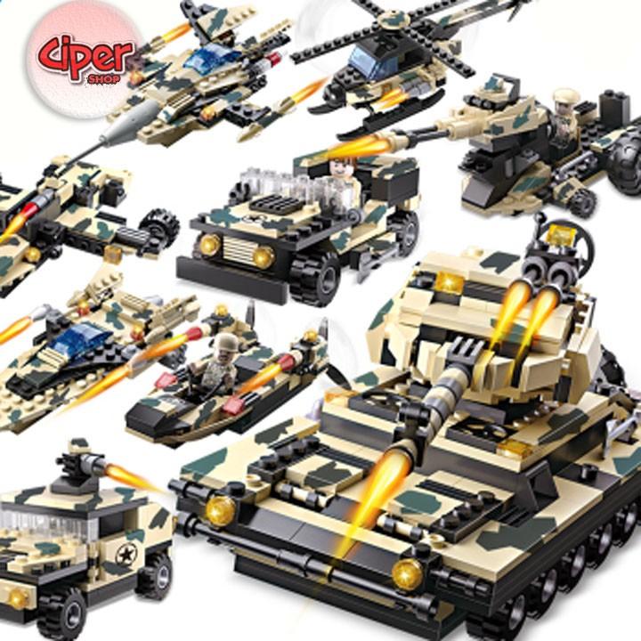 Lego mô hình lắp ráp Xe tăng quân đội - 3028892 , 1208585100 , 322_1208585100 , 449000 , Lego-mo-hinh-lap-rap-Xe-tang-quan-doi-322_1208585100 , shopee.vn , Lego mô hình lắp ráp Xe tăng quân đội