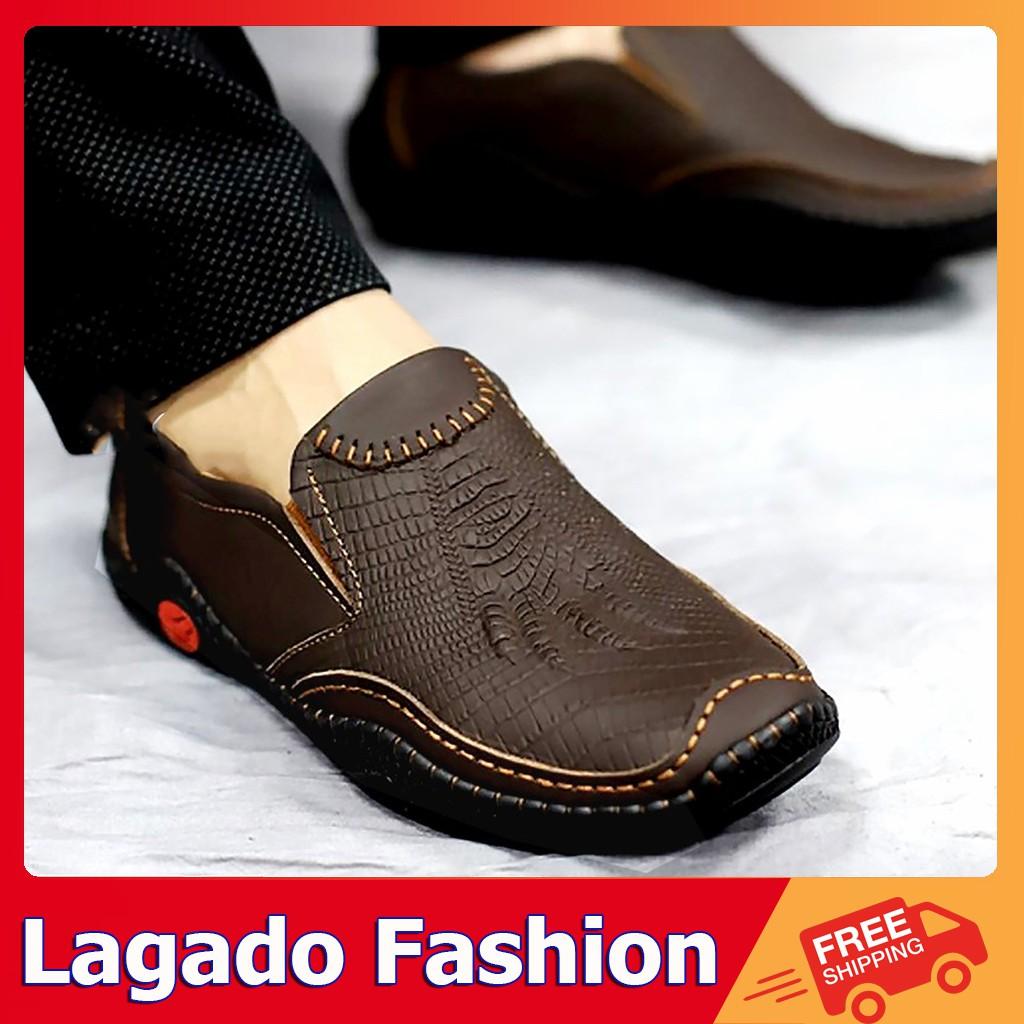 🔥NHIỀU MẪU - ẢNH THẬT🔥 Giày da nam da bò thật nhiều mẫu - màu sắc đen và nâu -...