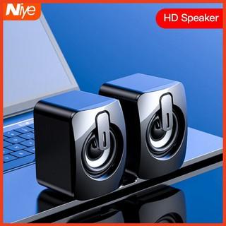 Loa Máy Vi Tính Để Bàn Siêu Gọn - Bass Siêu khỏe -  Âm Thanh Hay - Bộ loa máy tính để bàn mini, cắm nguồn USB