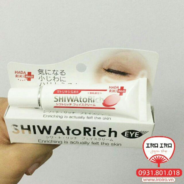 Kem trị nếp nhăn vùng mắt Hada Riki Nhật Bản