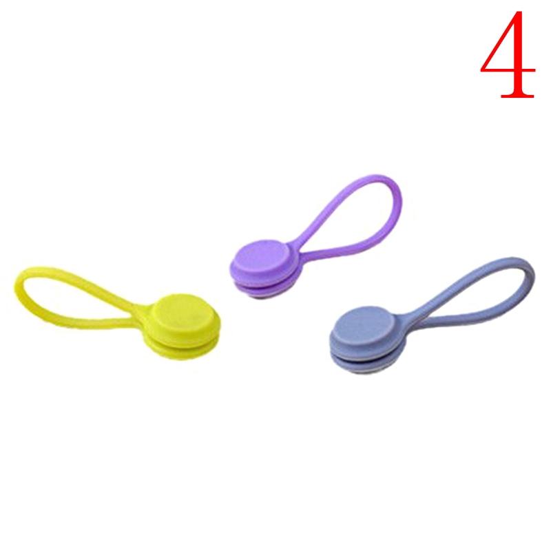 Bộ 3 kẹp nam châm cố định dây cáp / tai nghe