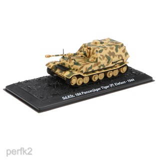 1:72 Scale Elefant(Sd.Kfz.184)-1944 Tank Fighter Deicast Army Model Toy