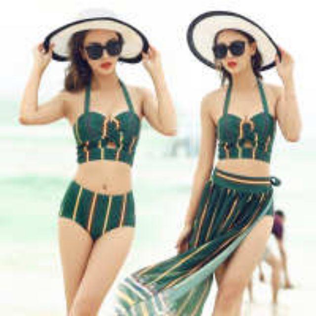 Bikini, áo 2 mảnh, đồ đi biển cao cấp