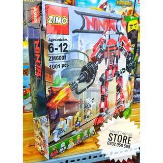 LEGO Lắp Ráp Robot Chiến Binh Samurai ZM 6001 ( 1001 Miếng )