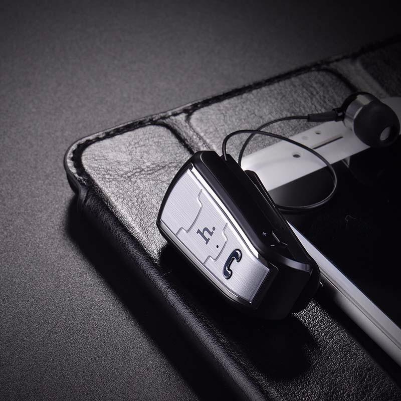 Tai nghe Bluetooth nhãn Hoco E4 (Đen) - Hàng Chính Hãng