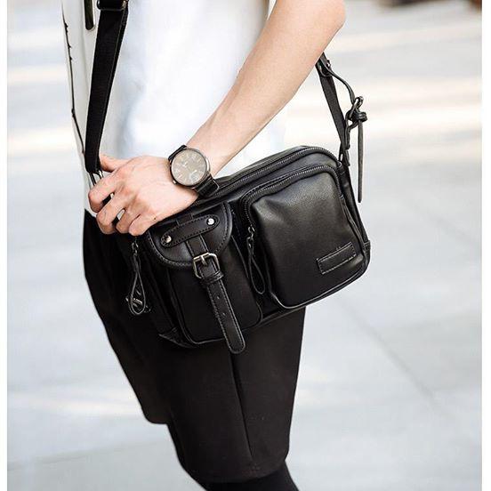 [Big Sale] Túi da đeo chéo Hàn Quốc TD10