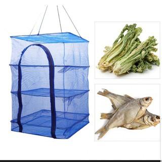 Lồng phơi cá khô lồng phơi thực phẩm tiện dụng