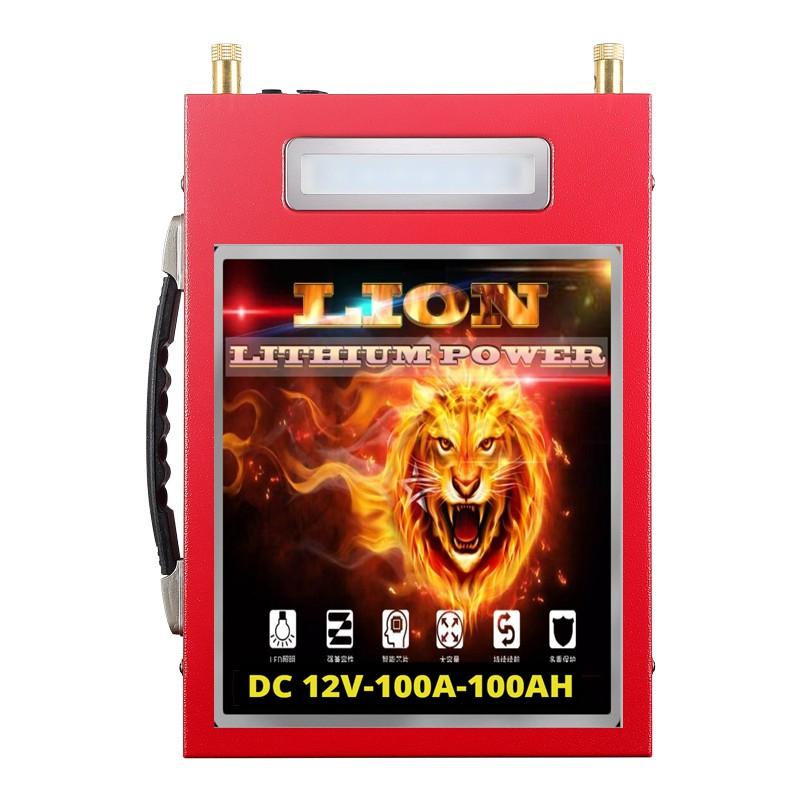 Pin lithium 12V-100Ah