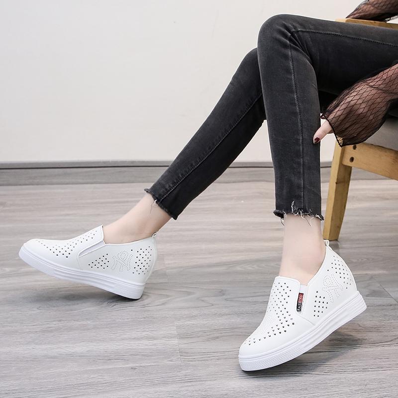Giày Tăng Chiều Cao Thiết Kế Giản Dị Dành Cho Nữ