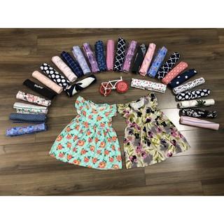 (Thanh Lý Shop 100k/5 bộ/váy ib shop) Váy catter bé gái