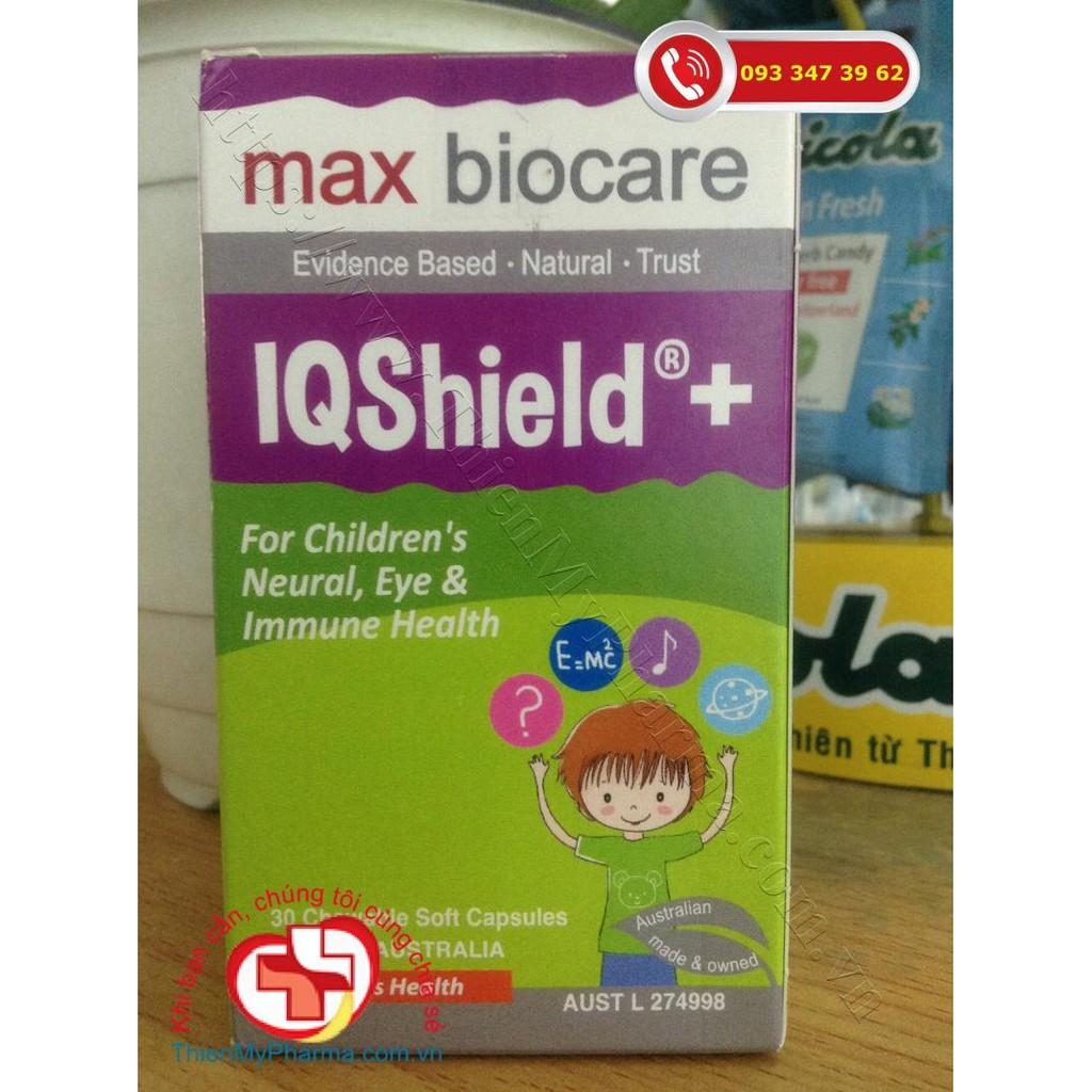 BioCare IQ Shield+ tăng cường (bổ mắt, bổ não, tăng cường miễn dịch)