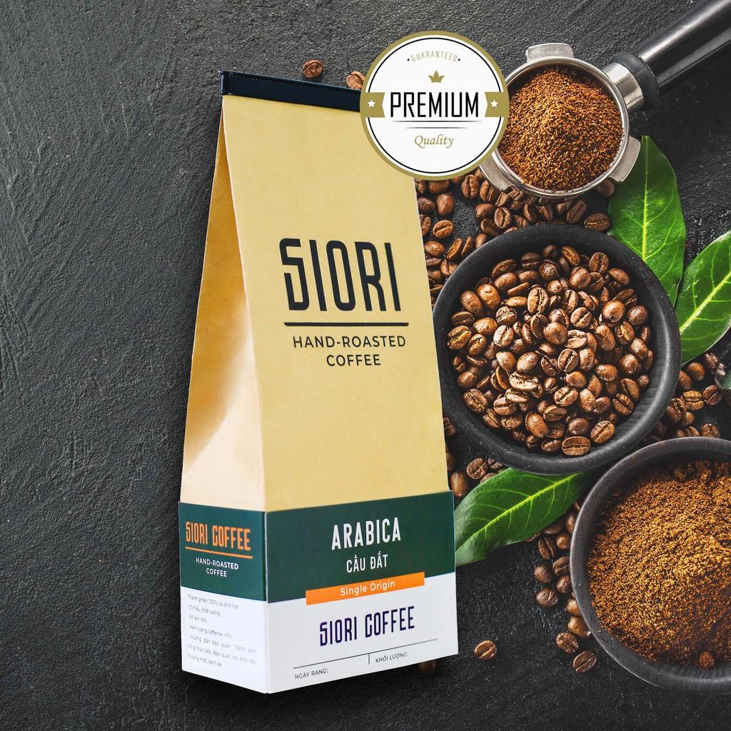 Cà phê ARABICA CẦU ĐẤT rang xay Thượng hạng _ Nguyên chất chất lượng cao _ Đặc sản Cầu Đất - Đà Lạt SIORI COFFEE.