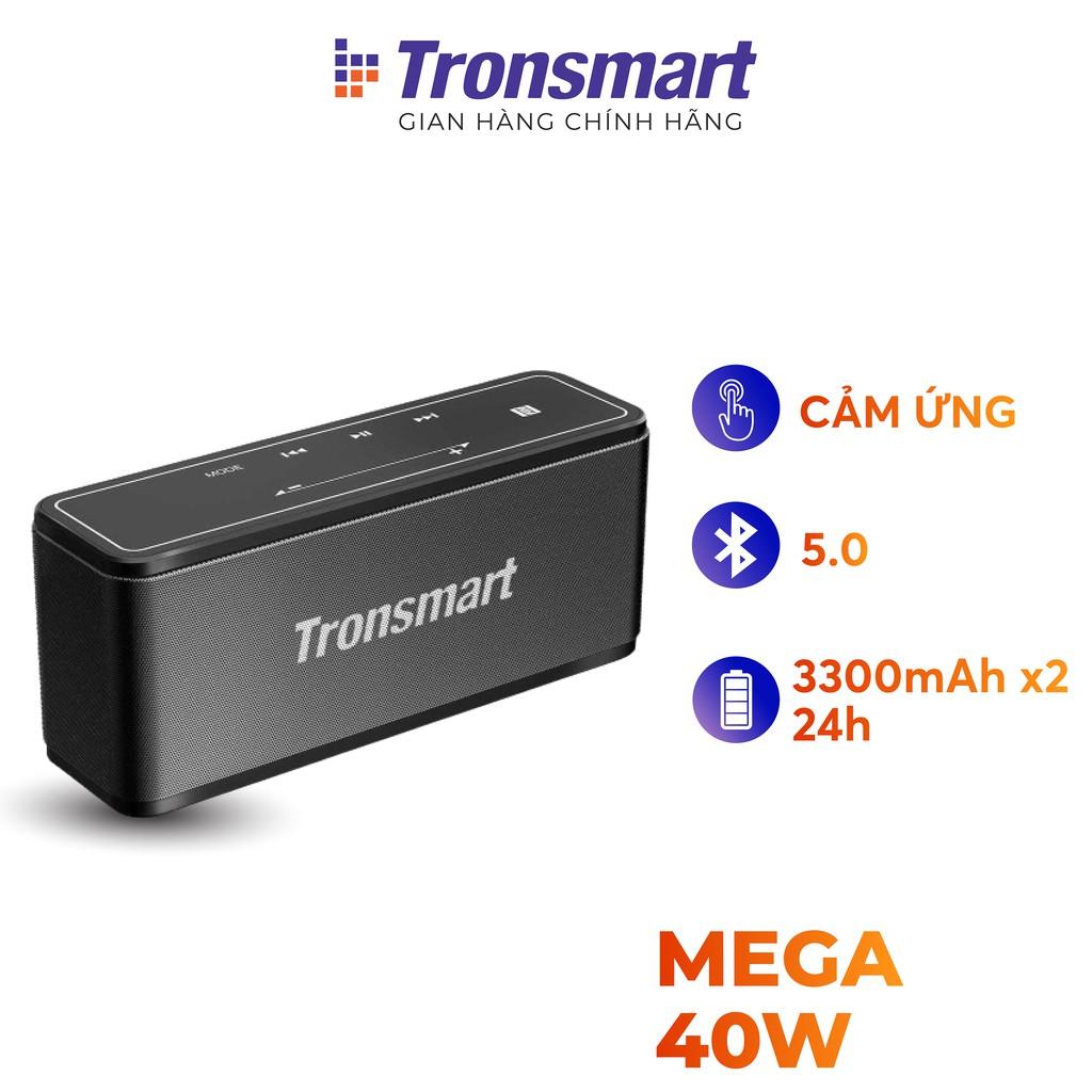 [Mã ELMALL44 giảm 7% đơn 499K] Loa Bluetooth công suất 40W, Pin 15h TRONSMART Element Mega TM-250394