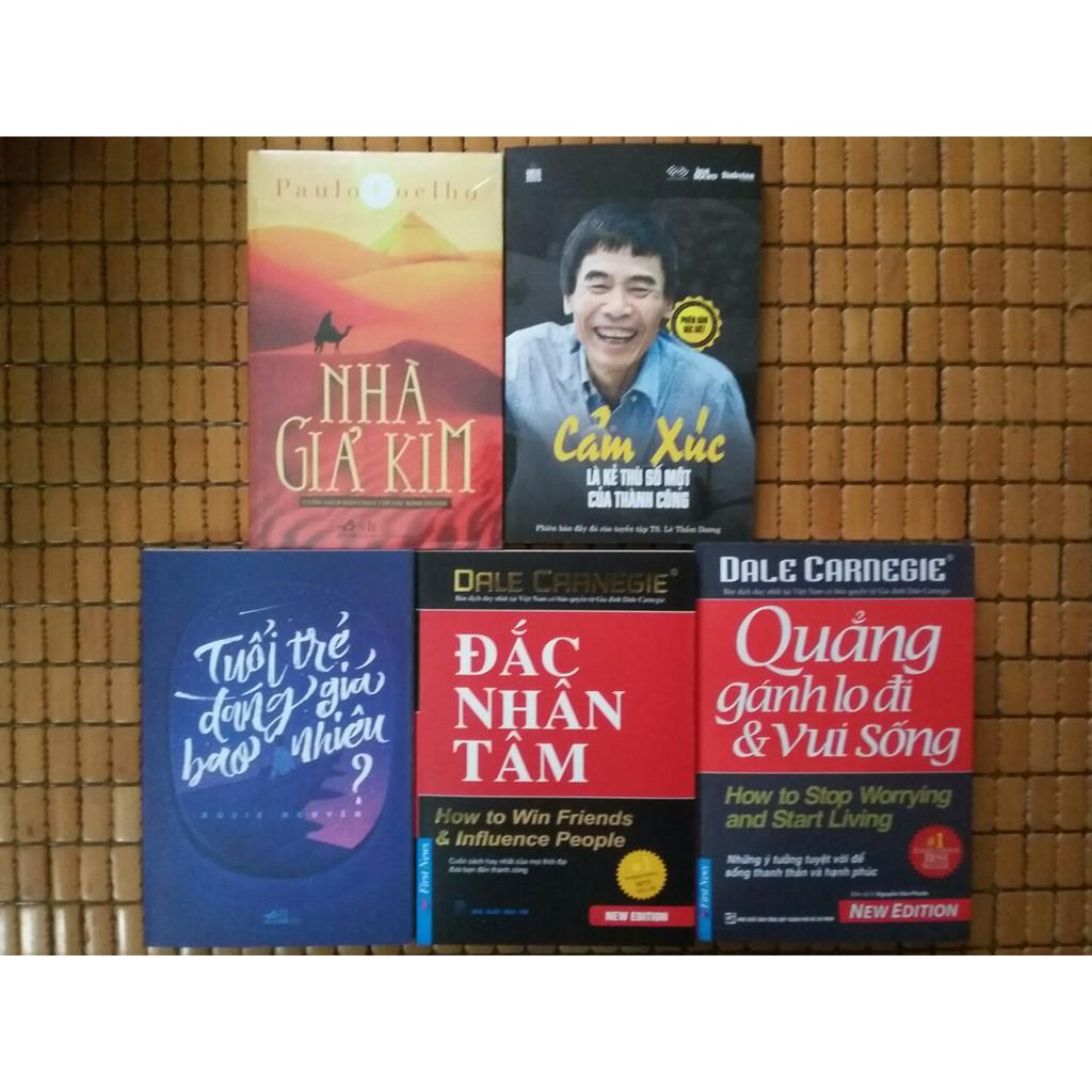 Combo 5 Cuốn Sách Kỹ Năng Hay Nhất