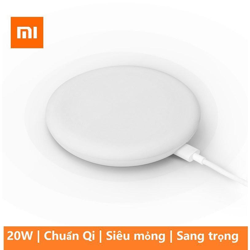 🔝 Bộ Đầy đủ Full phụ kiện Sạc không dây Xiaomi 20W | BH 7 ngày 💛 💛 💛 [ 💯 HÀNG CHÍNH HÃNG]