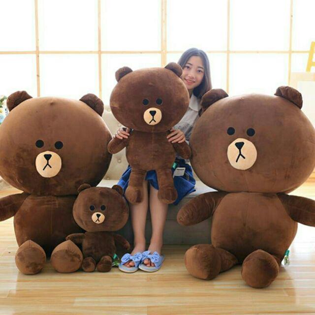 Gấu bông Brown dễ thương 1m3
