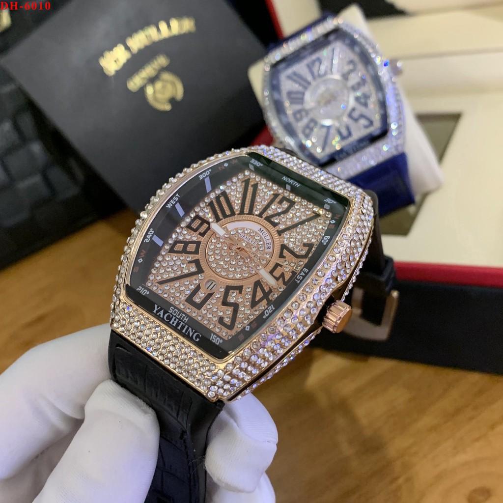 [Hàng cao cấp Fullbox] Đồng hồ nam FML 42mm - Full Đá sang trọng, tặng hộp và bảo hành 12 tháng ngoctrinhshop