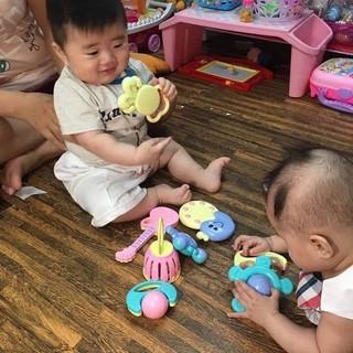 đồ chơi xúc xắc bình ty 9 món cho bé