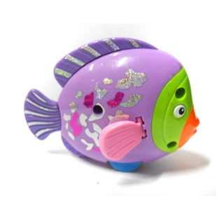 Cá thả bồn nước bể tắm chạy bằng dây cót cho bé