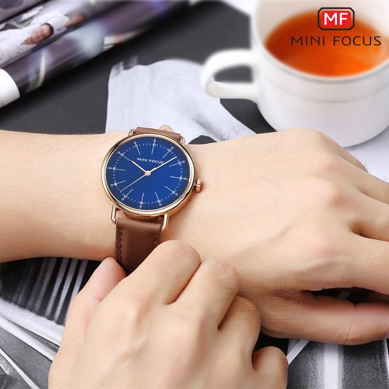 ✅ [CHÍNH HÃNG] Đồng Hồ Nam QMini Focus MF0056G - Tặng Vòng Tỳ Hưu - Phong Cách Classic Sang Trọng, Lịch Lãm