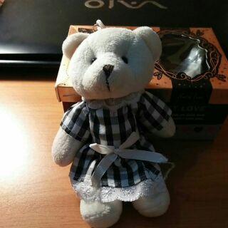 Gấu bông mini ( Móc khóa )