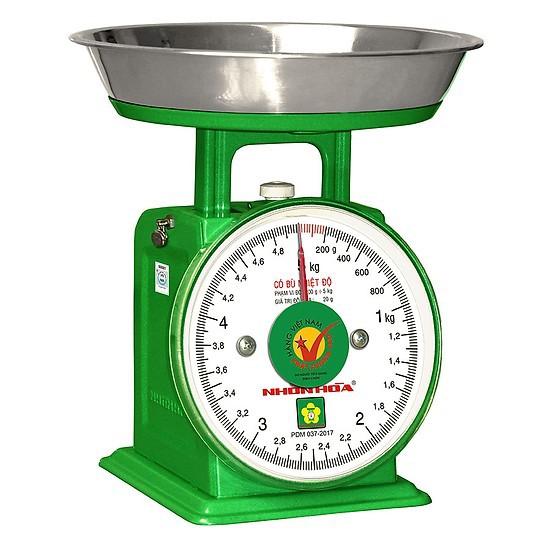 Cân đồng hồ Nhơn Hòa 5kg (chính hãng, có bảo