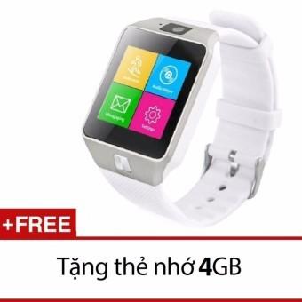 Đồng hồ thông minh có khe sim Smart Watch NS58 kèm Thẻ nhớ 4GB trắng