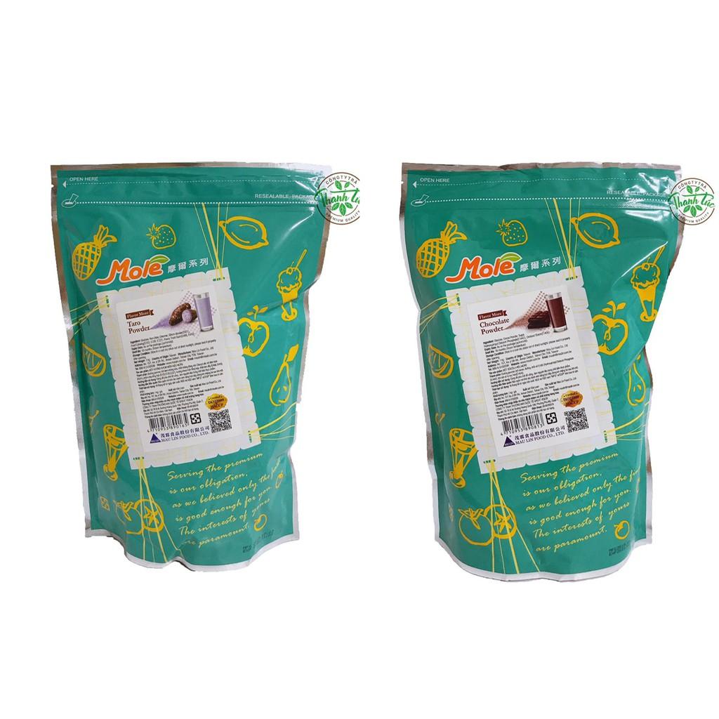 Bột Làm Trà Sữa (Môn, Socola) Đài Loan Maulin Mole Gói 1kg