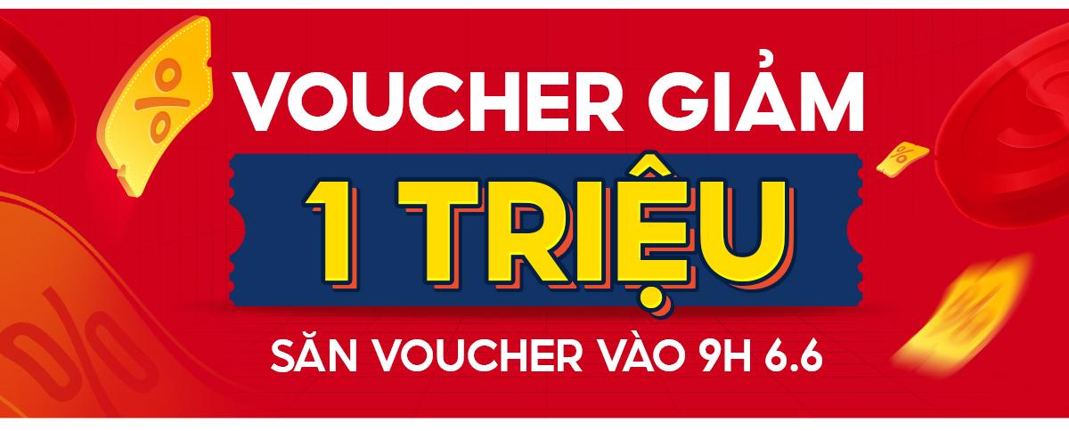 Voucher Shopee 1 triệu siêu hot