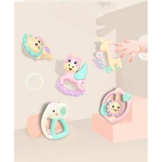 Bộ 5 đồ chơi cho bé từ 1- 12 tháng tuổi