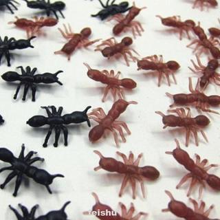 100pcs/set Living Room Ornament Makeup Realistic Durable DIY Halloween Bar Simulation Ants