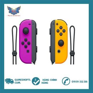 Tay Cầm Set Joy-cons Nintendo Switch - Neon Purple/Neon Orange